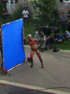 Olga Kurkulina es Mother Russia en Kick-Ass 2
