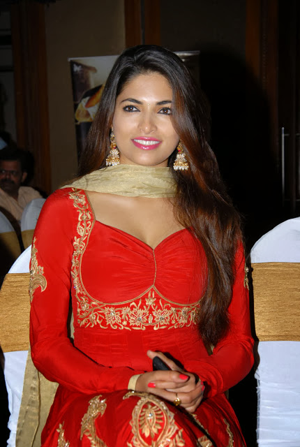 Parvathy Omanakuttan In Red Dress