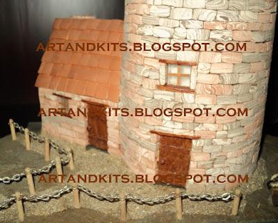 Continuando a apresentação deste trabalho de modelismo... / Continuing the presentation of this minature model work...