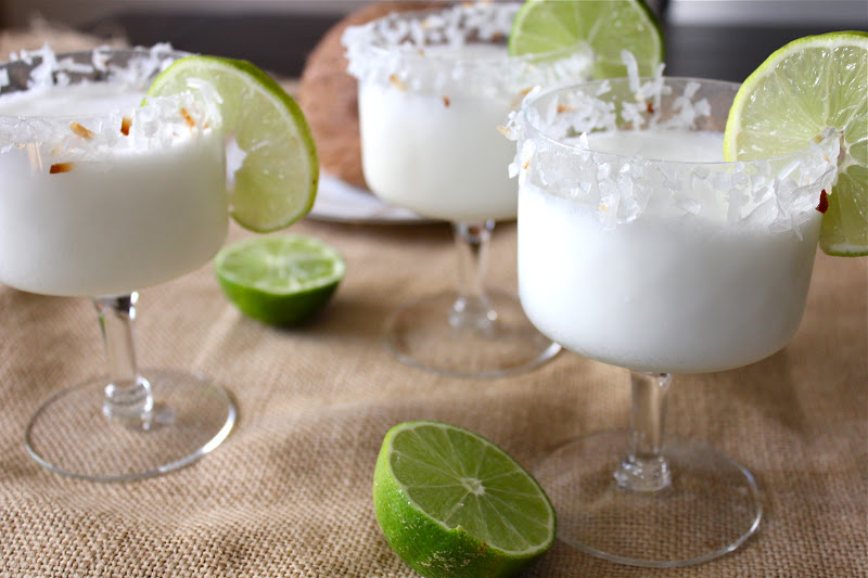 ValSoCal: Coconut Lime Margaritas