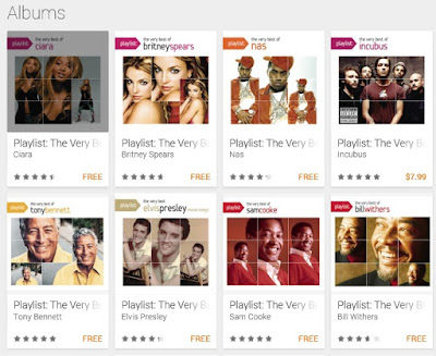 "Free Music: Google Play offers 20 free ""Very Best of"" collections"