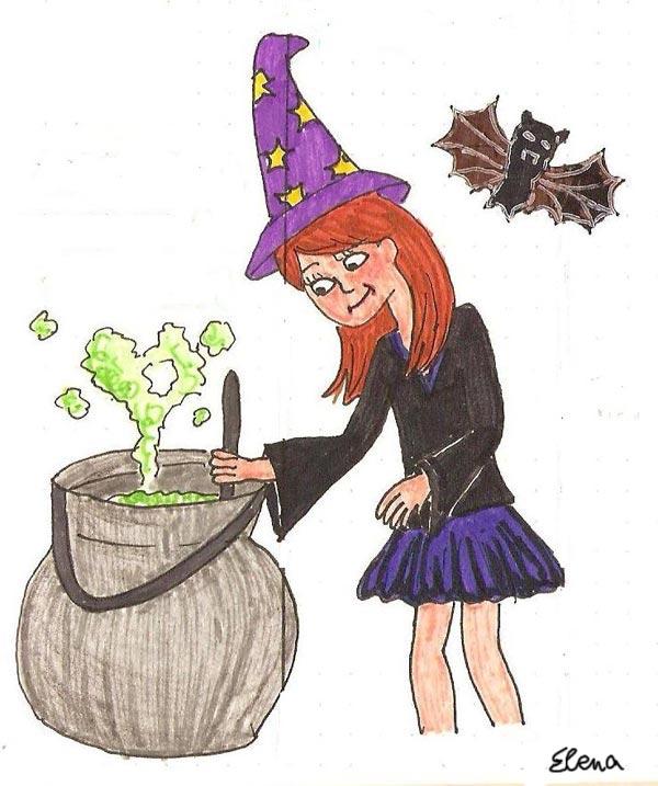 halloween ilustracion de moda