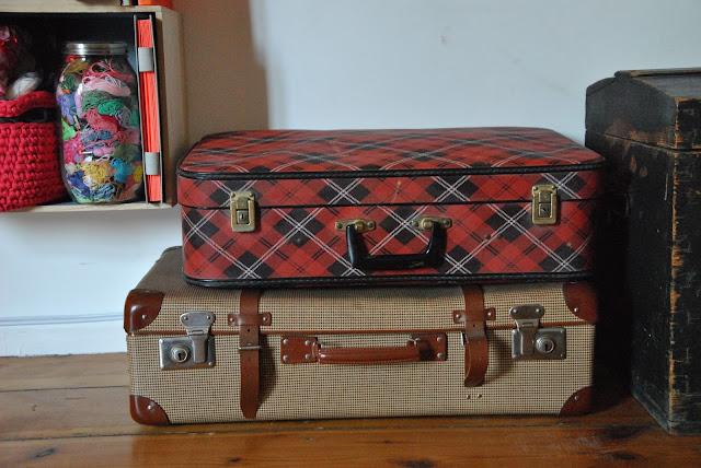 Alte Koffer Deko DIY