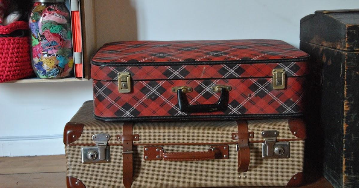 alte koffer deko diy meiliese. Black Bedroom Furniture Sets. Home Design Ideas