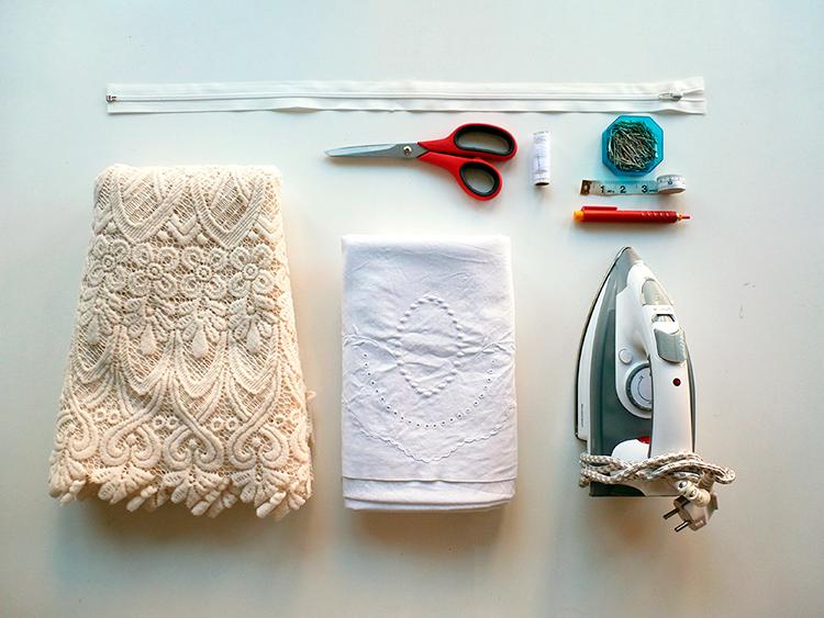 como hacer vestido de novia boho DIY 1