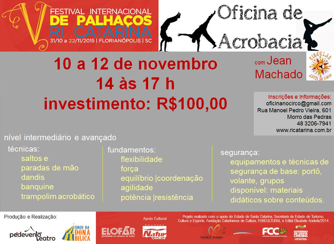 Festival internacional de palha os ri catarina for Oficina internacional de epizootias