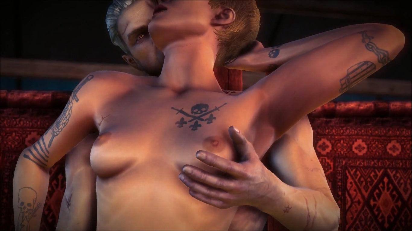 Witcher 2 nude scenes erotic pictures