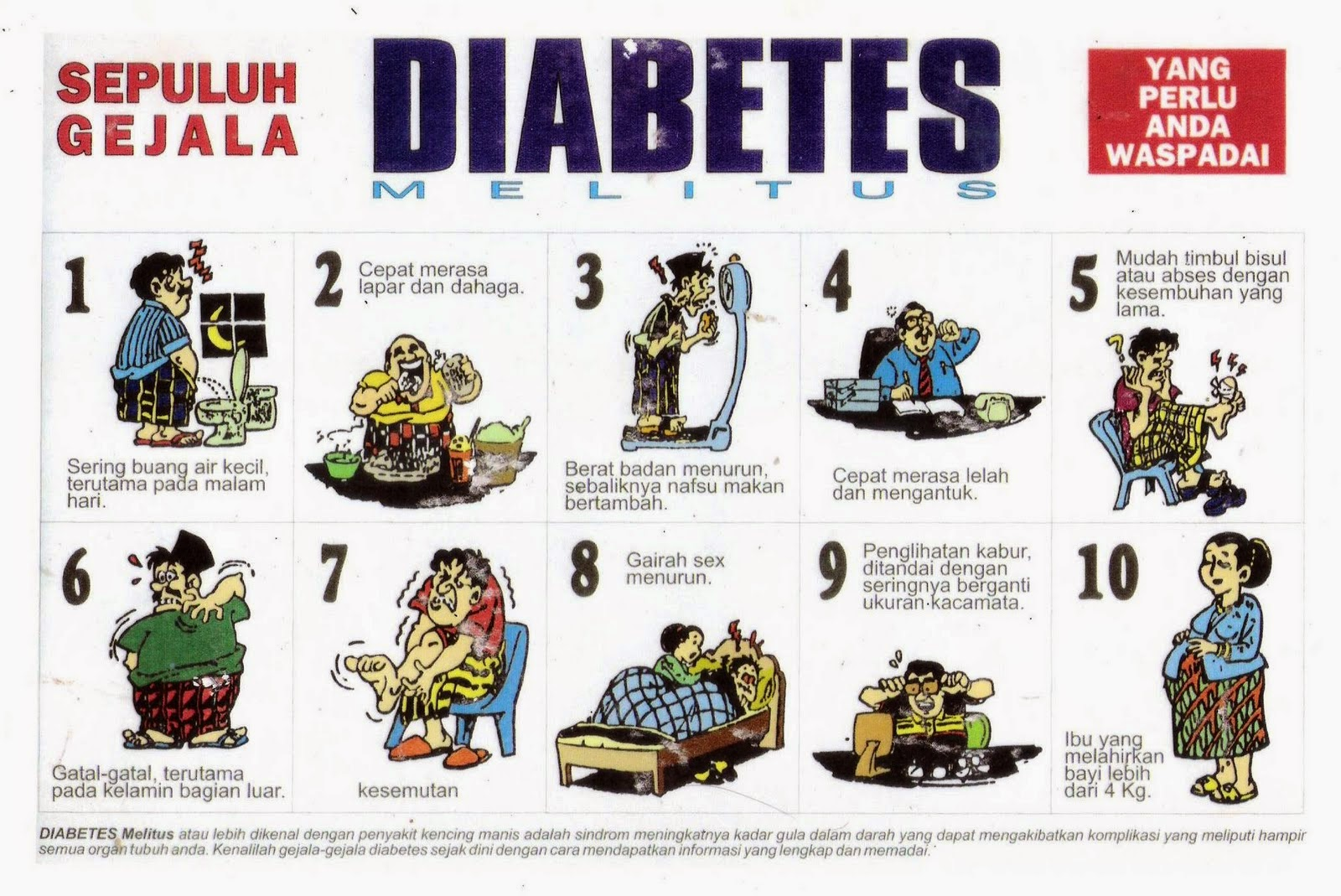 Gejala Terkena Diabetes