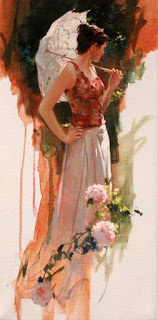 Sunlit garden, Richard S. Johnson