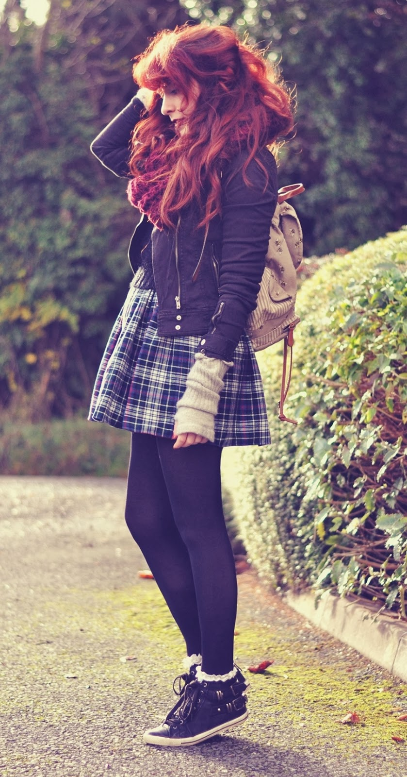 Redhead Autumn Fall Outfit