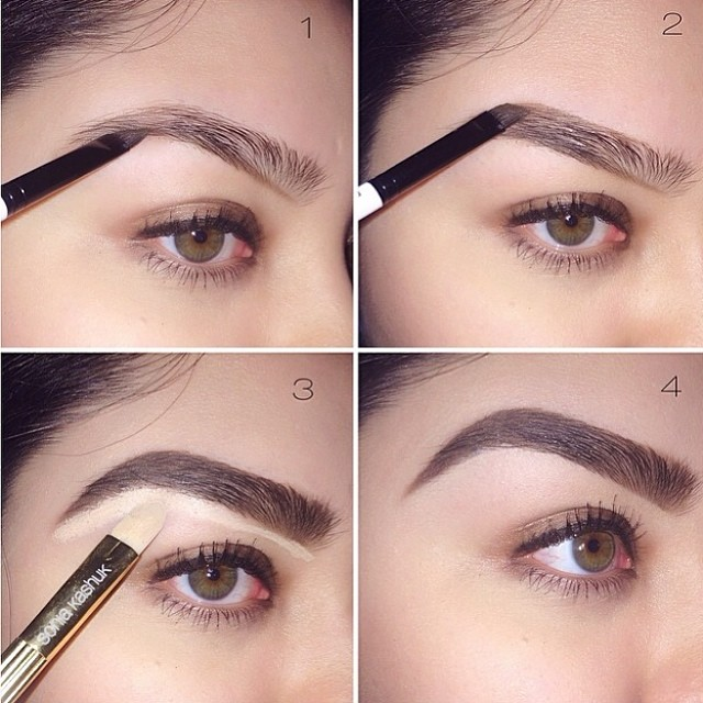 How to shape your eyebrows perfectly at home for all faces