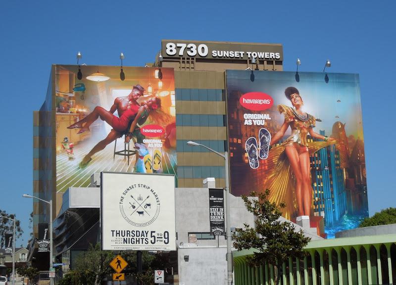Havaianas flipflop 2012 billboards
