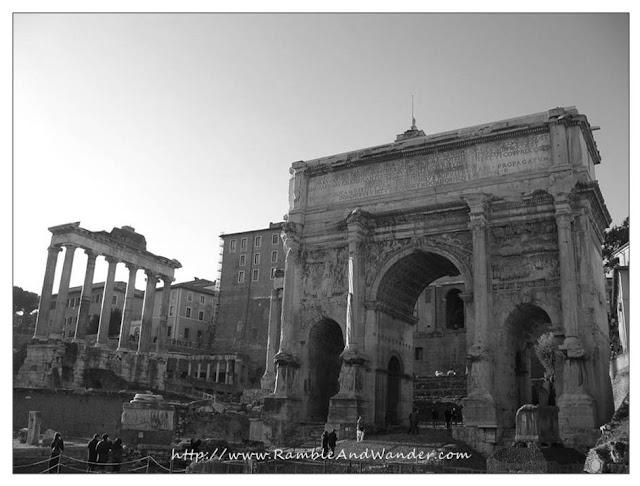 Temple of Saturn, Roman Forum, Rome, Italy
