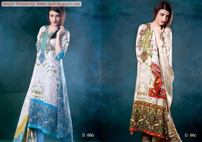 Sitara Universal Cambric Dress Collection 2014
