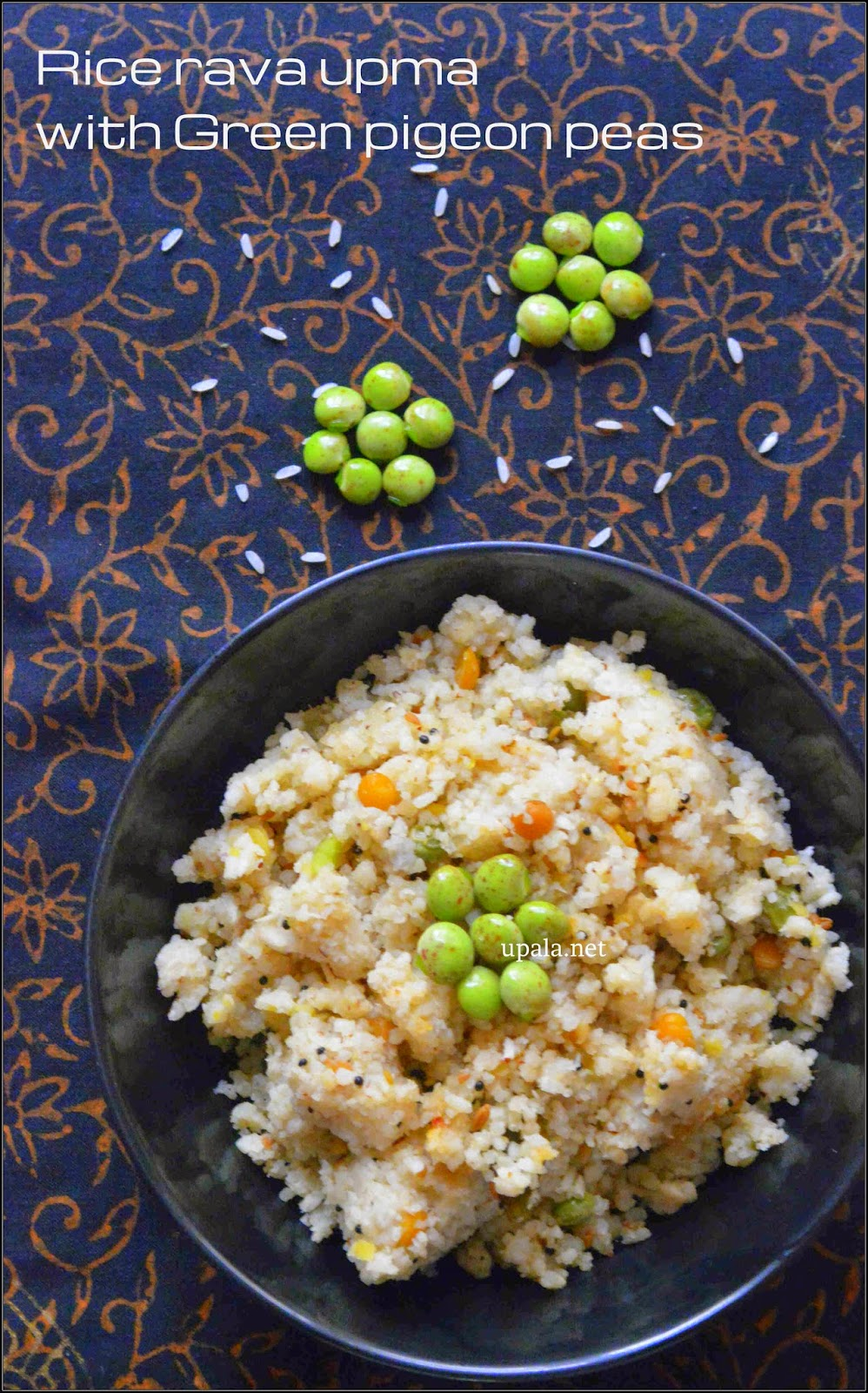 rice rava upma