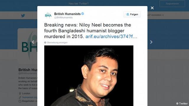 Blogueiro morto por gangue do facão em Bangladesh havia pedido proteção policial