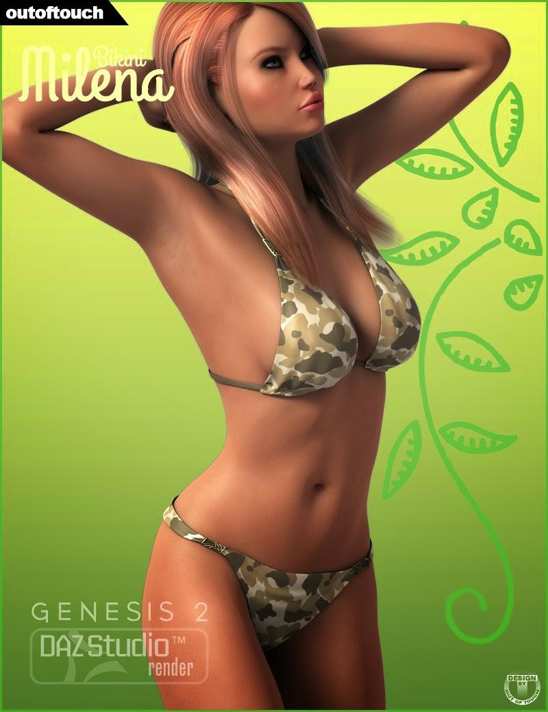 Bikini de Milena pour Genesis 2 Femme