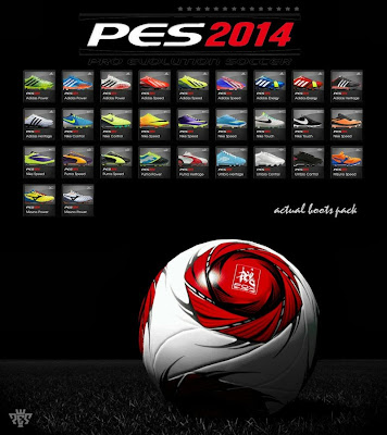 PES 2014 Actual Boots Pack by Laim