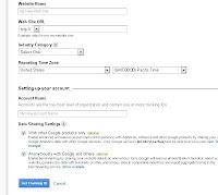 Google analytic form