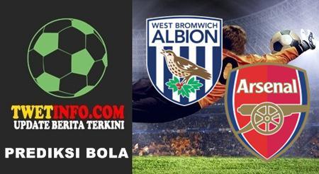 Prediksi West Brom WBA vs Arsenal