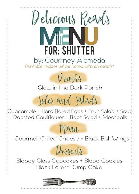 Shutter Food Menu