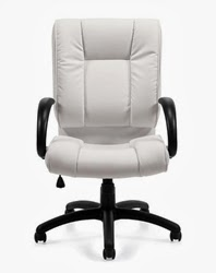 White Office Chair by OTG