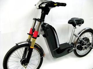 Moto Electrica Negra Chile