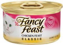 Fancy Feast Gourmet Cat Food, Classic Chicken Feast, 3-Ounce Cans (Pack of 24)