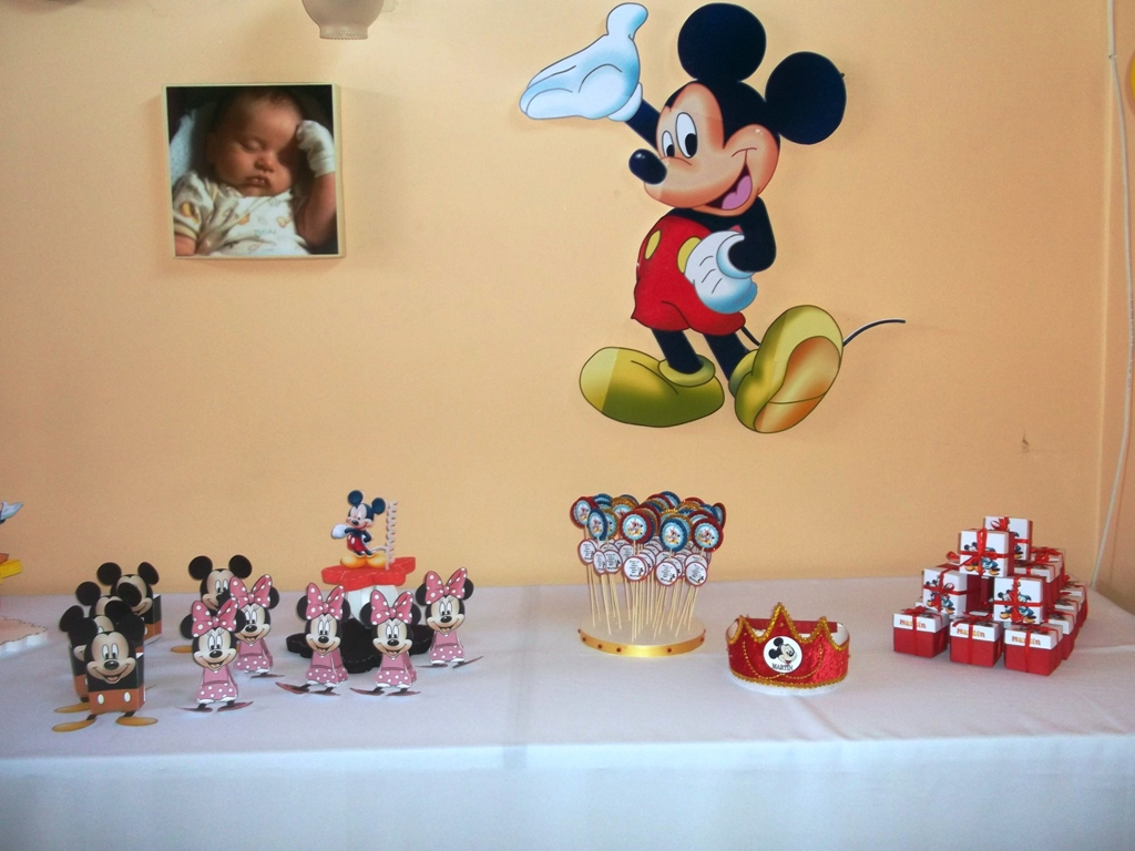 Eventos para tu beb decoraci n mickey - Decoracion cumpleanos bebe ...