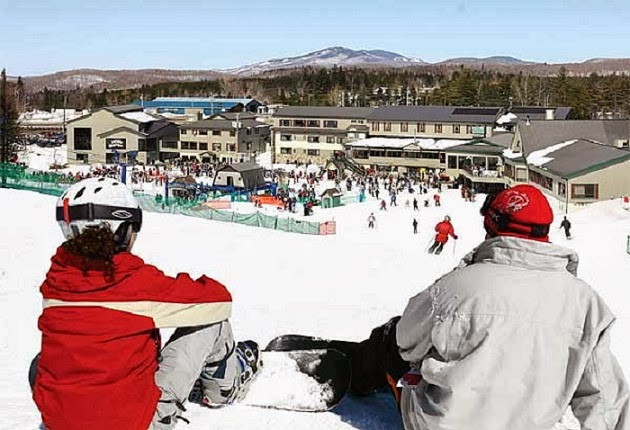 Downhill Skiing and Snowboarding - Embrace Christmas Spirit in Beautiful Quebec City, Canada