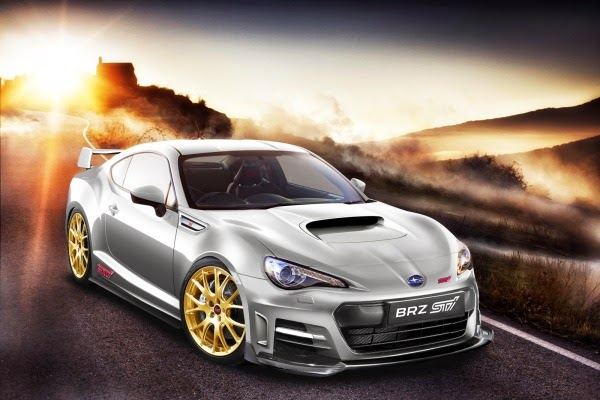 mobil sport Subaru BR-Z