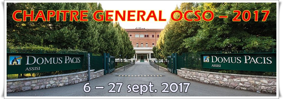CHAPITRE GENERAL OCSO 2017