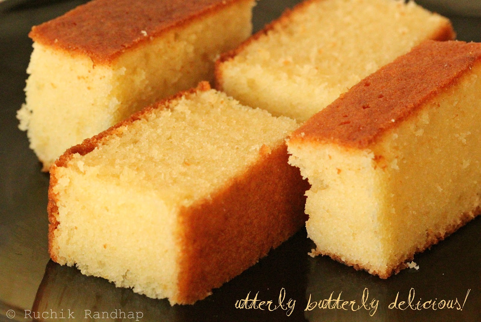 Butter cake simply delicious ruchik randhap for Easy basic cake recipes from scratch