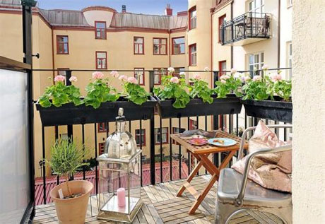 Tips to decorate the balcony
