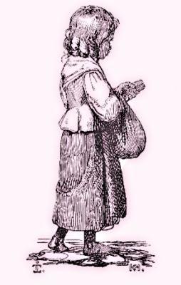 La petita venedora de llumins (Johan Thomas Lundbye)