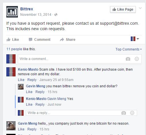 bittrex 100% scam