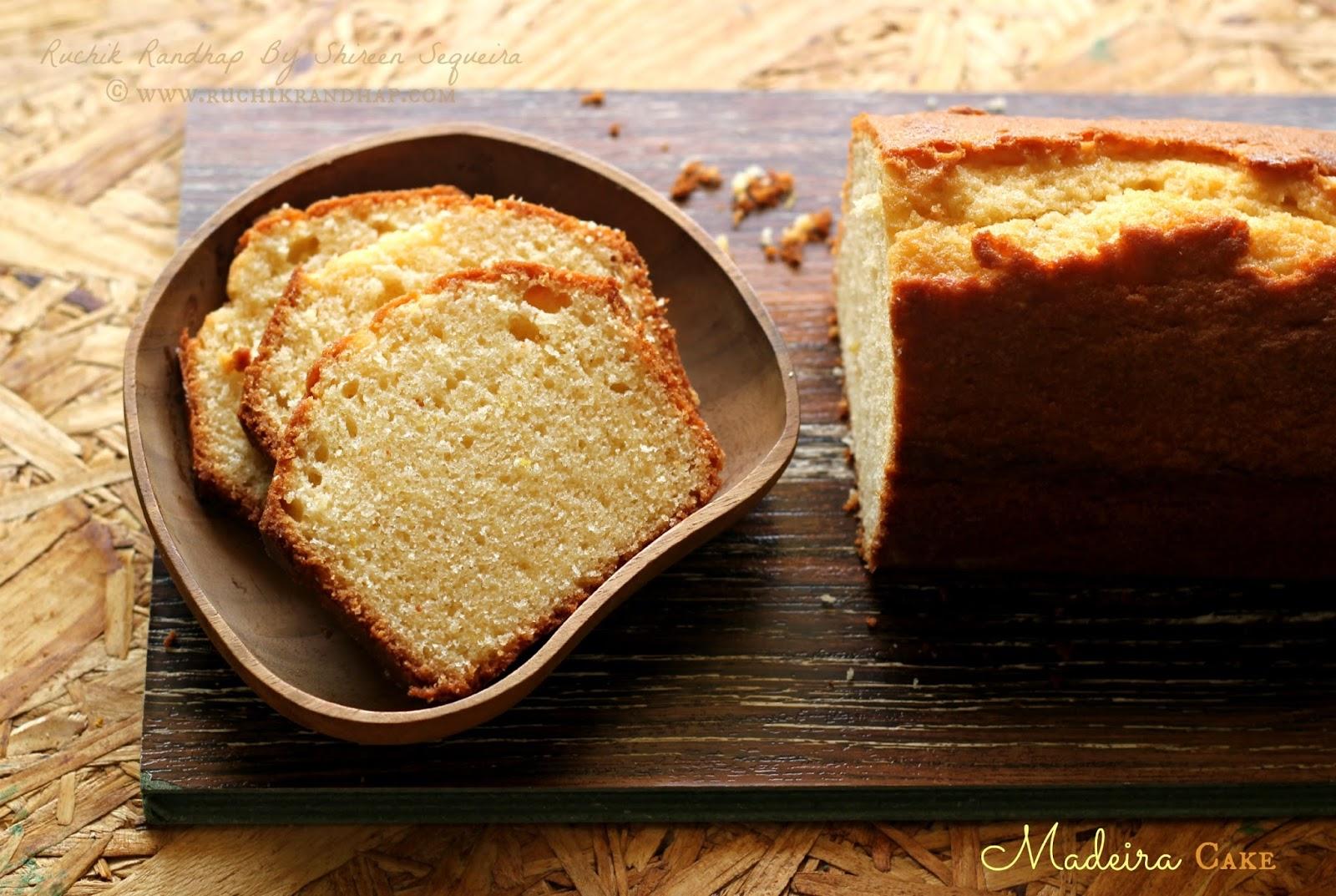 Madeira Cake Recipes  Inch Tin