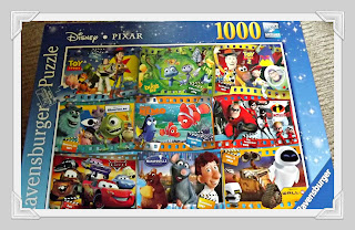 Ravensburger, Disney, pixar, puzzle, montage, 1000 piece, review, jigsaw