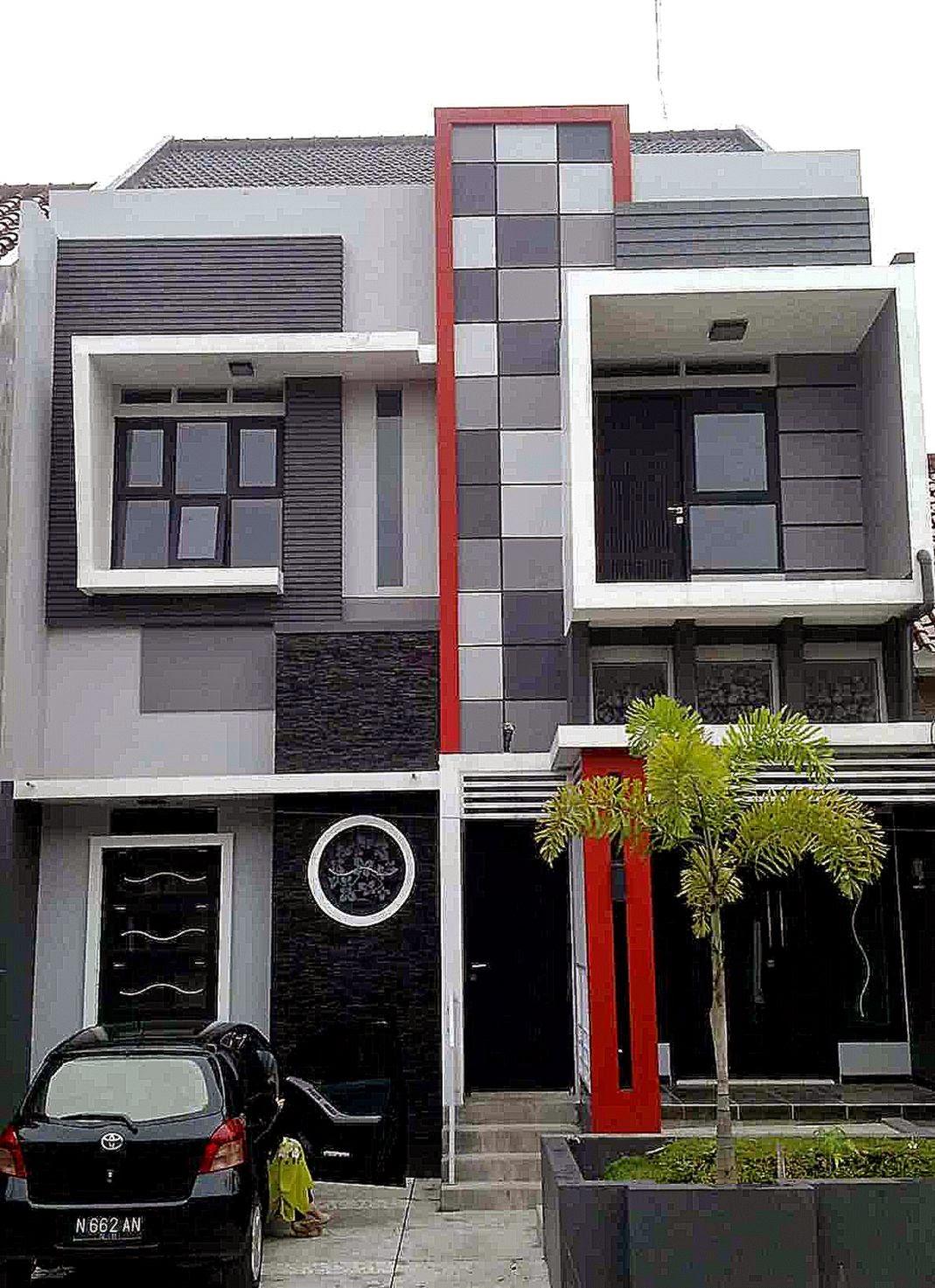 model desain rumah minimalis sederhana 2 lantai terbaru