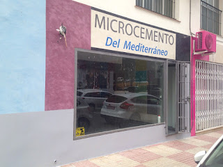 Tienda en San Pedro de Alcántara para decorar con microcemento