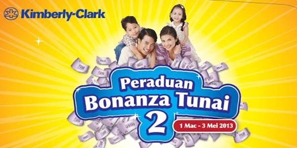 Peraduan Kimberly-Clark 'Bonanza Tunai 2'