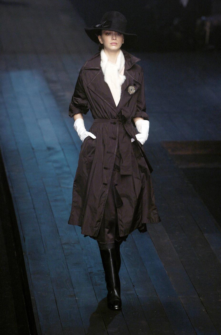 via fashioned by love | Lanvin Fall/Winter 2004