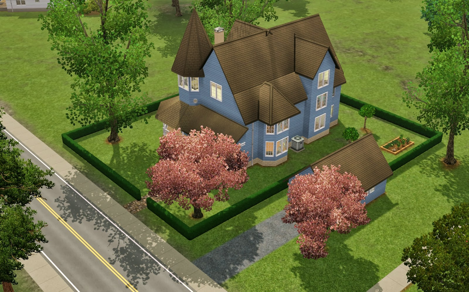 Summer's Little Sims 3 Garden: Moonlight Falls List of Houses