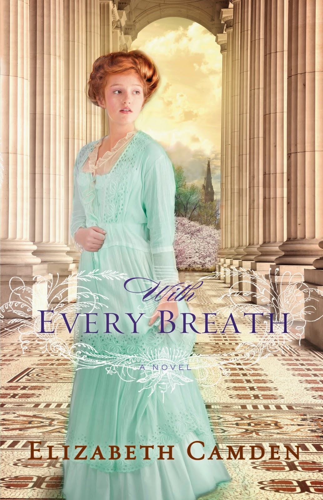 book review of With Every Breath by Elizabeth Camden (Bethany House) by papertapepins