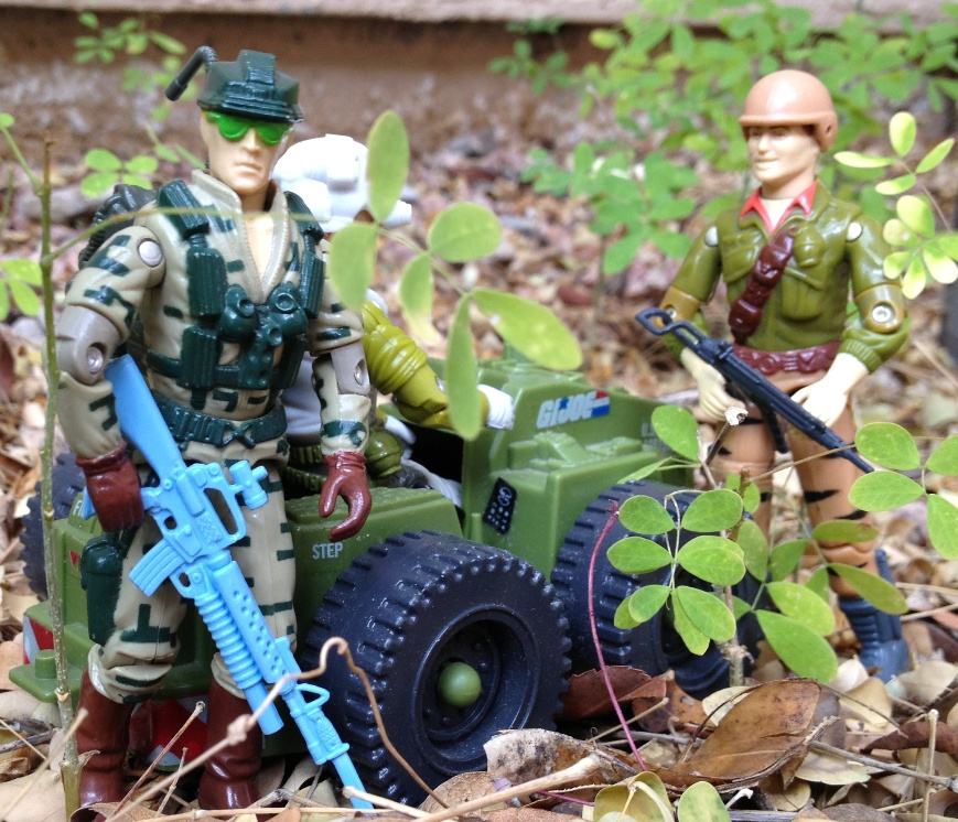1989 Recoil, Long Range, 1988 Duke, Tiger Force, Weapon Transport, 1987
