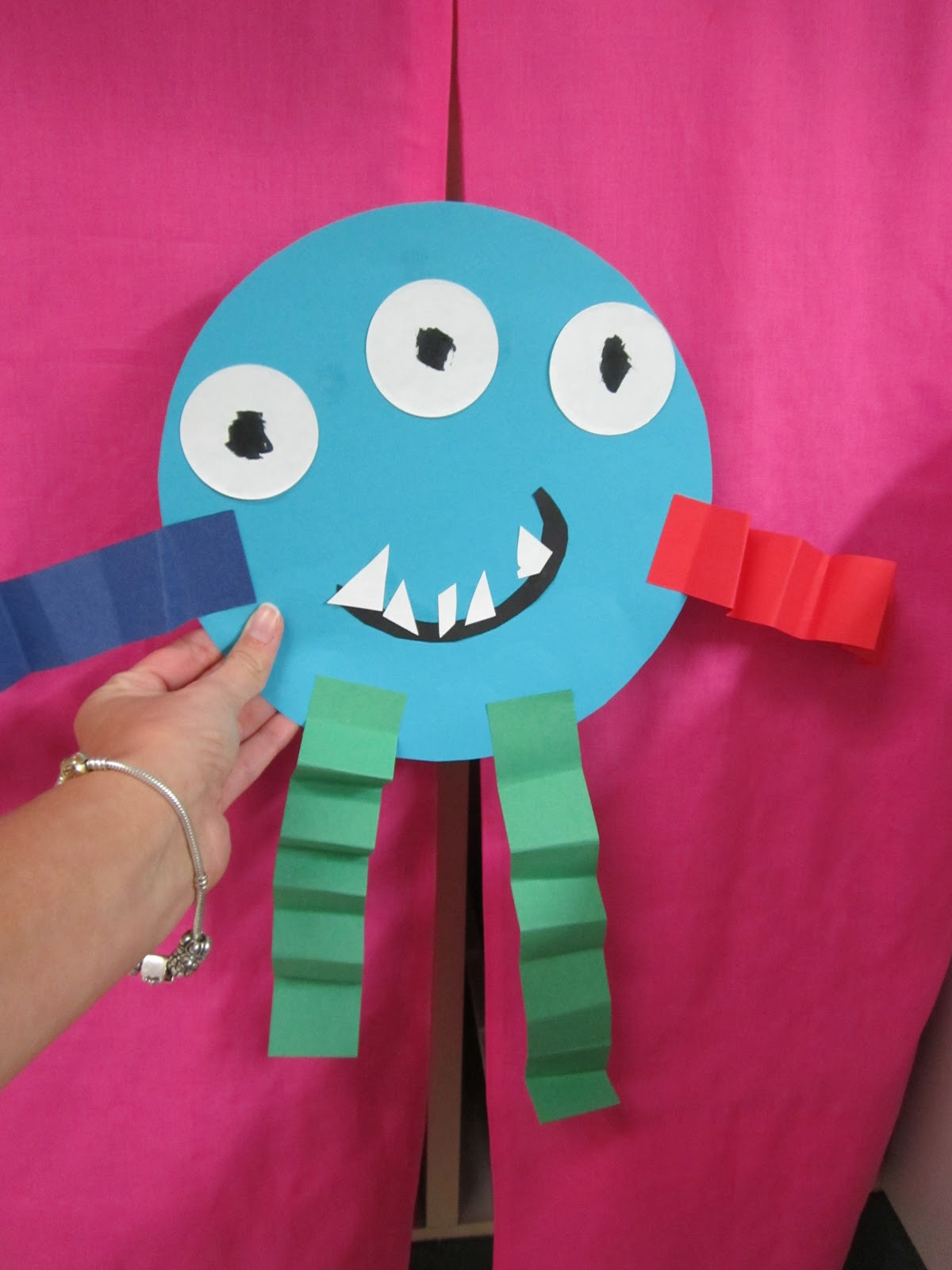 templat monster - what happens in first grade boo to you
