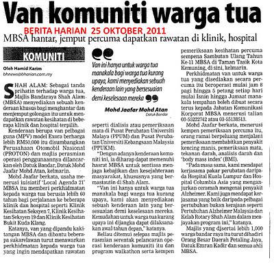 ... pada MBSA atas Projek Van Wargatua... Kedah tak mau buat kaa