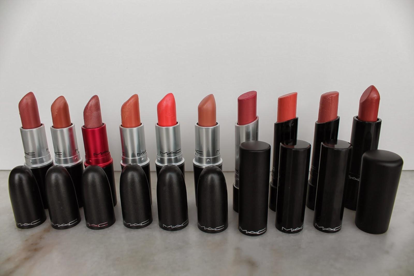Rouges à lèvres MAC
