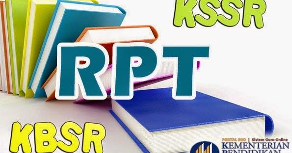 RPT KSSR Semua Subjek Tahun 1 hingga 5 2015