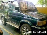 Dijual - Toyota Kijang tahun 1995, iklan baris mobil